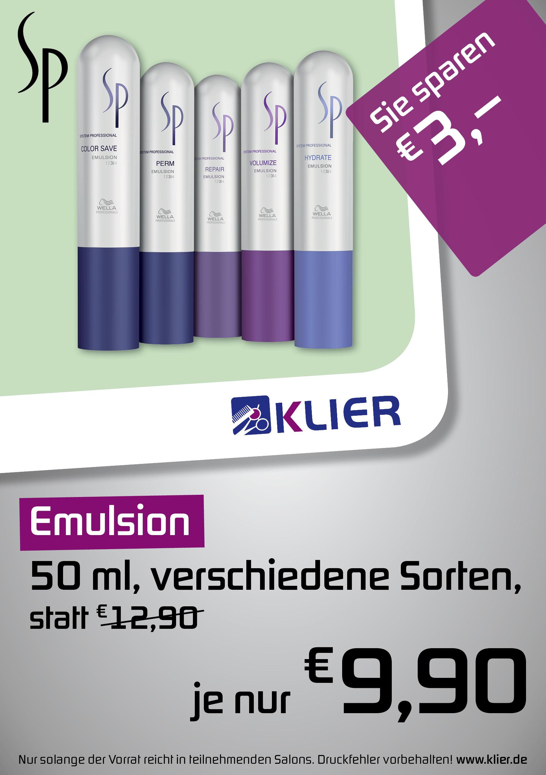 SP Emulsion Angebot